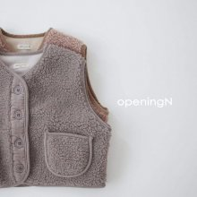 Miracle vest<br>2 color<br>『opening N』<br>20 FW 【PRE ORDER】