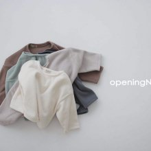 Micro fleece T<br>5 color<br>『opening N』<br>20 FW 【PRE ORDER】