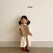 Winter Wool vest<br>2 color<br>『O'ahu』<br>20FW 【PRE ORDER】