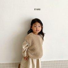 Popo fleece vest<br>『O'ahu』<br>20FW 【PRE ORDER】