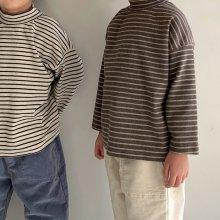 Stripe pola T<br>2 color<br>『Little Colli』<br>20FW 【PRE ORDER】