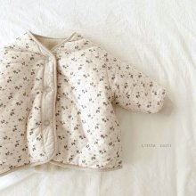 Reversible flower jumpers<br>『Little Colli』<br>20FW<br>定価<s>7,700円</s><br>Ivory S/L