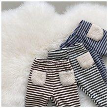 Striped leggings<br>3 color<br>『nunubiel』<br>20 FW<br>定価<s>1,900円</s><br>