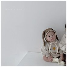 Rabbit bonnet<br>2 color<br>『nunubiel』<br>20 FW <br>定価<s>2,000円</s>