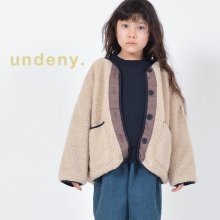 Reversible blouson with MOM<br>greige<br>『undeny.』<br>定価<s>5,390円</s>