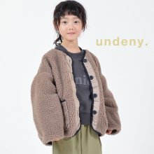 Reversible blouson with MOM<br>Ash gray<br>『undeny.』<br>定価<s>5,390円</s>