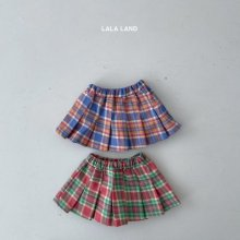 School girl skirt<br>2 color<br>『lala land』<br>21 SS