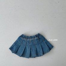 Sarah denim skirt<br>『lala land』<br>21 SS