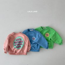 Circle Sweatshirt<br>2 color<br>『lala land』<br>21 SS<img class='new_mark_img2' src='https://img.shop-pro.jp/img/new/icons13.gif' style='border:none;display:inline;margin:0px;padding:0px;width:auto;' />