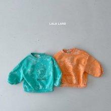 Picnic Water Print Sweatshirts<br>2 color<br>『lala land』<br>21 SS