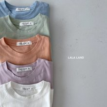 Silk Basic T<br>5 color<br>『lala land』<br>21 SS