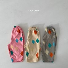 Diamond pants<br>3 color<br>『lala land』<br>21 SS