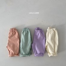 Lara pants<br>4 color<br>『lala land』<br>21 SS<img class='new_mark_img2' src='https://img.shop-pro.jp/img/new/icons13.gif' style='border:none;display:inline;margin:0px;padding:0px;width:auto;' />