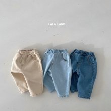 Round Slash Denim<br>3 color<br>『lala land』<br>21 SS