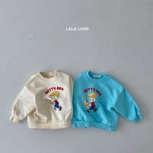 Witty Boy<br>2 color<br>『lala land』<br>21 SS<br>Blue/L