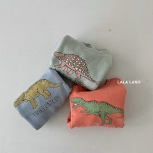 Dinosaur Sweatshirt/21<br>3 color<br>『lala land』<br>21 SS【Stock】