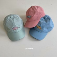 Dinosaur cap<br>3 color<br>『lala land』<br>21 SS【Stock】