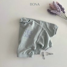 Creamy embroidery MTM<br>2 Color<br>『BONA』<br>21SS