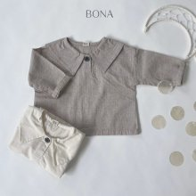 collar blouse<br>2 Color<br>『BONA』<br>21SS