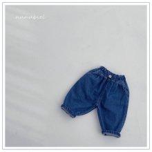 Button jean pants<br>『nunubiel』<br>21SS
