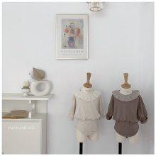 Lovely frill bodysuit<br>2 color<br>『nunubiel』<br>21SS