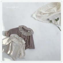 Lovely frill T<br>2 color<br>『nunubiel』<br>21SS