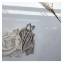 Page suspender dress<br>2 color<br>『nunubiel』<br>21SS
