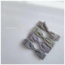 Check ribbon hairband<br>『nunubiel』<br>21SS