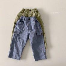 Pocket daily pants<br>2 color<br>『de marvi』<br>21SS