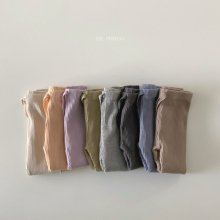 21SS Ribbed leggings<br>8 color<br>『de marvi』<br>21SS 【Stock】