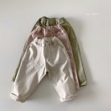 Miele pants<br>3 color<br>『de marvi』<br>21SS