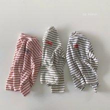 Paris Stripe T<br>3 color<br>『de marvi』<br>21SS