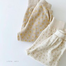 Waffle flower pt<br>2 color<br>『Little Colli』<br>21SS 【Stock】<br>Ivory/S・L・XL