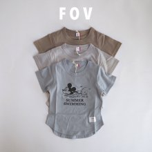 Micky Swimming round T<br>3 color<br>『FOV + Disney』<br>21SS