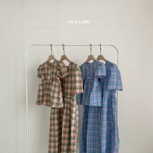 Check ops<br>with MOM<br>2 color<br>『lala land』<br>21SS