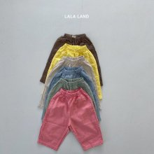 Lala summer pt<br>6 color<br>『lala land』<br>21SS