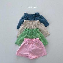 Cotton short pt<br>4 color<br>『lala land』<br>21SS