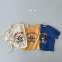 Tennis bear T<br>3 color<br>『lala land』<br>21SS