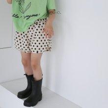 dotdot shorts<br>Black<br>『guno・』<br>21SS
