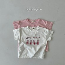 Rabbit T<br>2 color<br>『babar mignon』<br>21SS