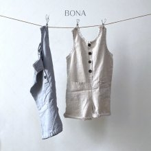 Linen overalls<br>2 Color<br>『BONA』<br>21SS