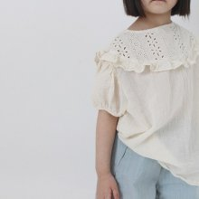 chrom blouse<br>4 color<br>『OpeningN』<br>21SS