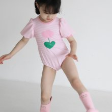 guno girl swimsuit set<br>Pink flower<br>『guno・』<br>21SS