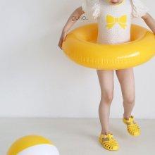 guno girl swimsuit set<br>yellow ribbon<br>『guno・』<br>21SS