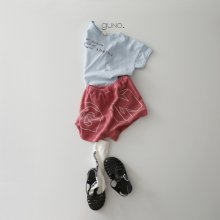 GN shorts<br>red<br>『guno・』<br>21SS