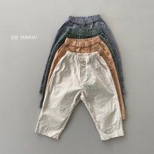 Cool span pants<br>4 color<br>『de marvi』<br>21SS