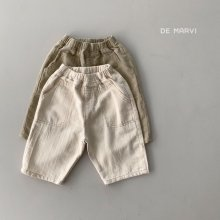 Hoho cotton PT<br>2 color<br>『de marvi』<br>21SS