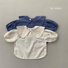 Newts blouse<br>2 color<br>『de marvi』<br>21SS