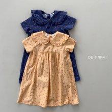 Heart dress<br>2 color<br>『de marvi』<br>21SS
