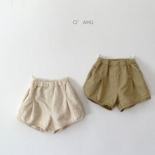 Nana culottes shorts<br>2 color<br>『O'ahu』<br>21SS